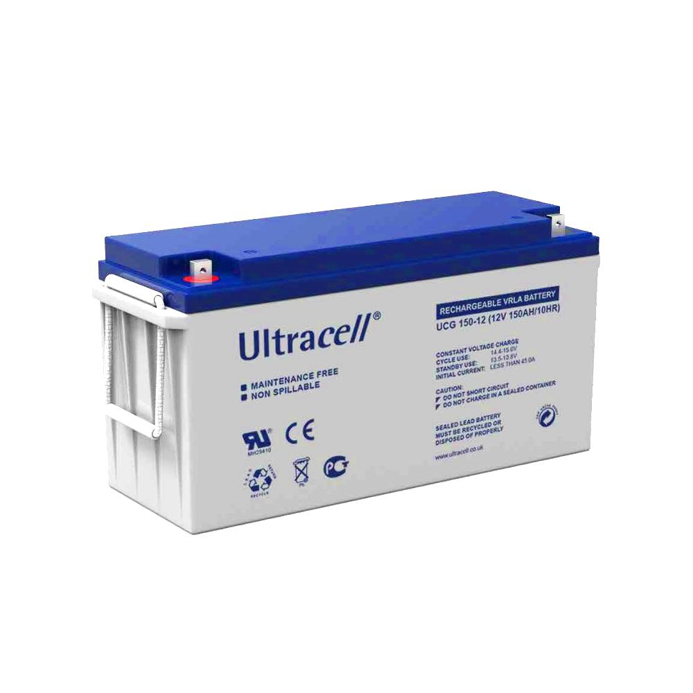 VRLA Ultracell cu GEL 12V, 150Ah UCG150-12